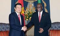 Presidente de Vietnam concluye agenda de trabajo en Tanzania