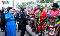 Gira del presidente Truong Tan Sang: nuevos hitos en relaciones Vietnam-Tanzania, Mozambique e Irán