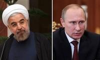 Rusia e Irán analizan por teléfono el conflicto de Siria