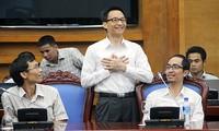 Vietnam promueve espíritu emprendedor juvenil con el uso de avances científicos y cibernéticos