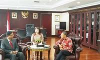Vietnam, una prioridad en la política exterior de Indonesia
