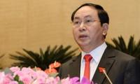 Nuevo presidente vietnamita visita y trabaja en Ninh Binh