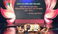 Honran a personas destacadas en movimiento de seguimiento del ejemplo del presidente Ho Chi Minh