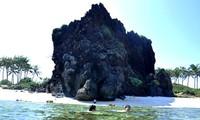 Increíble patrimonio geológico en la isla de Ly Son