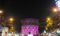 Los Países Bajos iluminan la torre de agua Hang Dau en Hanoi