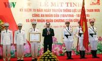 Ministerio de Seguridad Pública de Vietnam conmemora 70 años de Fuerzas Asesoras