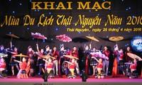 Inaugurada temporada turística de Thai Nguyen 2016