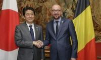 Japón dispuesto a fomentar cooperación con Bélgica en lucha contra terrorismo