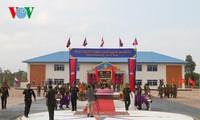 Camboya inaugura una obra militar financiada por Vietnam