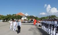 Líder partidista visita IV Zona Militar de la Marina de Vietnam