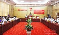 Vicepremier revisa cumplimiento de tareas socioeconómicas en Nghe An
