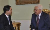 Vietnam y Palestina abogan por buscar una solución pacífica de conflictos