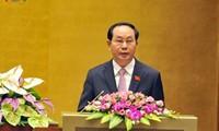 Mandatario vietnamita urge al empresariado nacional a la emulación