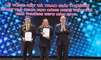 Entregan premios de creatividad científica y tecnológica Vietnam 2015