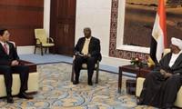 Vietnam y Sudán fortalecen relaciones de cooperación