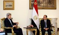 Secretario de Estado de Estados Unidos visita Egipto para promover la paz de Oriente Medio