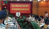 Exhortan al fomento de reformas administrativas en Vietnam