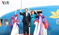 Prensa camboyana resalta el significado de la visita estatal del presidente vietnamita al país