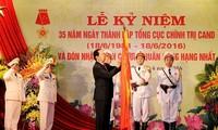 Conmemoran fundación de Dirección Política de la Policía Popular de Vietnam