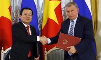 Vietnam y Rusia rubrican acuerdo de cooperación en petróleo