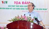 Impulsan en Vietnam campaña para construir el nuevo campo y una vida urbana civilizada
