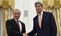 Putin y Kerry, reunidos en Moscú para hablar de Ucrania y Siria