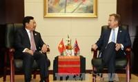 Vietnam fomenta relaciones con Noruega, Nueva Zelanda y Canadá