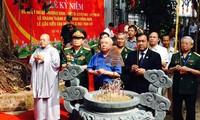 Develado monumento a soldados voluntarios vietnamitas en Camboya