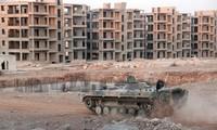 Fuerzas gubernamentales sirias fortalecen ataques aéreos contra rebeldes en Alepo