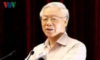 Líder partidista vietnamita pide mantener la paz por el desarrollo nacional