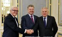 Gobierno de Ucrania se compromete a respetar el alto al fuego con fuerzas independentistas