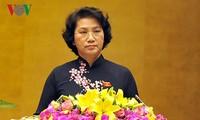 Presidenta del Parlamento de Vietnam visitará Laos, Camboya y Myanmar