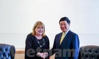 Dirigente vietnamita se reúne con autoridades de Argentina e Italia en Nueva York