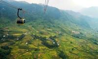 Explorar valle Muong Hoa con teleférico