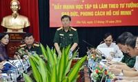 Vietnam promueve reforzamiento partidista en ejército