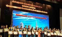 Ciudad Ho Chi Minh honra a empresarios y compañías sobresalientes