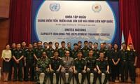 Vietnam por elevar su capacidad de mantenimiento de la paz