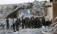 Fuerzas sirias recuperan el control de ciudades importantes