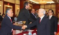 Líder vietnamita aprecia tema del XVIII Encuentro Internacional de Partidos Comunistas