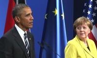 Obama y Merkel hacen hincapié en los beneficios del acuerdo comercial entre la UE y Estados Unidos