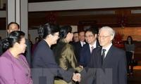 Continúan actividades del líder partidista vietnamita en Laos