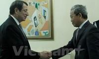 Vietnam y República de Chipre afianzan relaciones