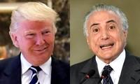 Presidente electo de Estados Unidos promete a cooperar con Brasil por un mayor crecimiento