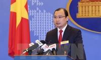 Vietnam rechaza construcción ilegal por parte de China de islas artificiales en Mar del Este