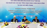 Promueven participación de civiles en construcción de políticas en región central vietnamita