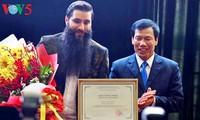 Nombran a director estadounidense nuevo embajador de turismo de Vietnam