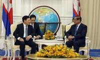 Optimizan eficiencia del mecanismo de cooperación Vietnam-Camboya