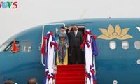 Prensa laosiana resalta visita del premier vietnamita a su nación