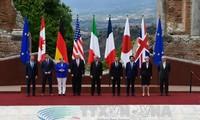 G7 aprueba declaración conjunta sobre temas mundiales