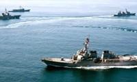 Estados Unidos, India y Japón destacan la importancia de la libre navegación en el mar